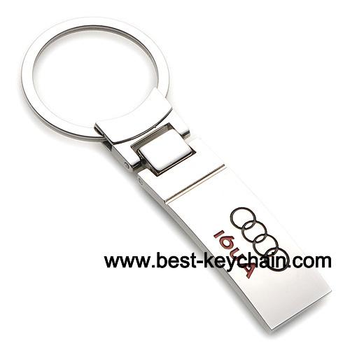 Manufactory Audi Keychain Metal Audi Metal Key Chain Audi Metal - Audi keychain
