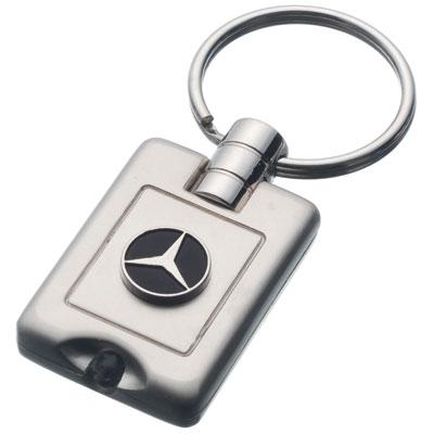 Mercedes benz keychain manufactory gift light keychain for Mercedes benz keychains